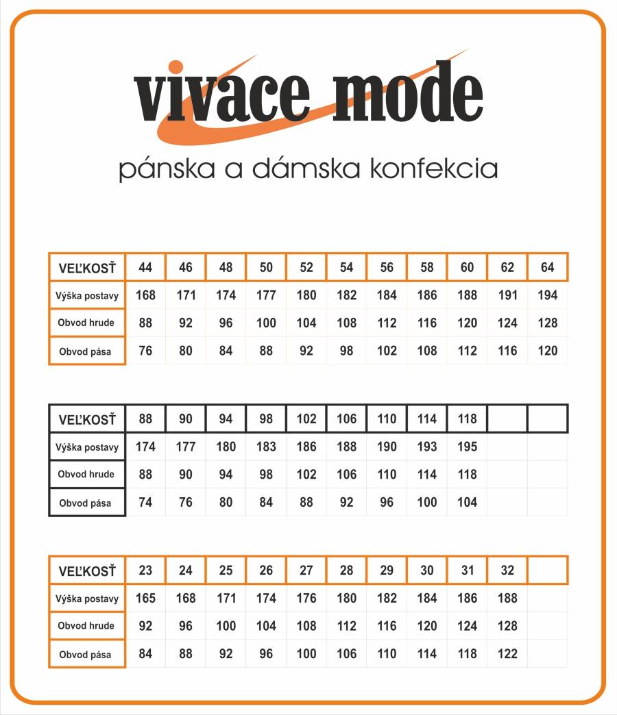 5vivace_mode_velkostna_tabulka